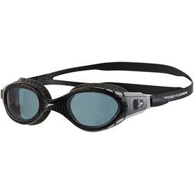 speedo Futura Biofuse Flexiseal Goggles, cool grey/black/smoke